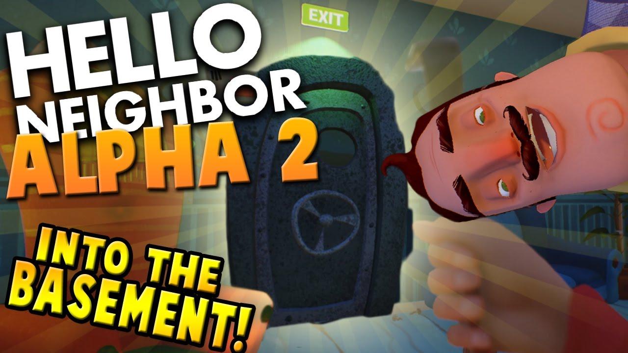 Hello Neighbor Alpha 2 Into The Basement New Ending