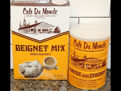 Café Du Monde Beignet Mix & Coffee and Chicory Review