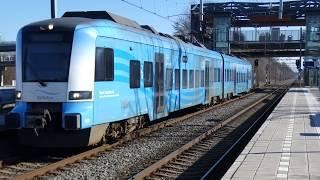 4K| CXX Protos 5031 vertrekt van Hoevelaken als stoptrein naar Amersfoort!