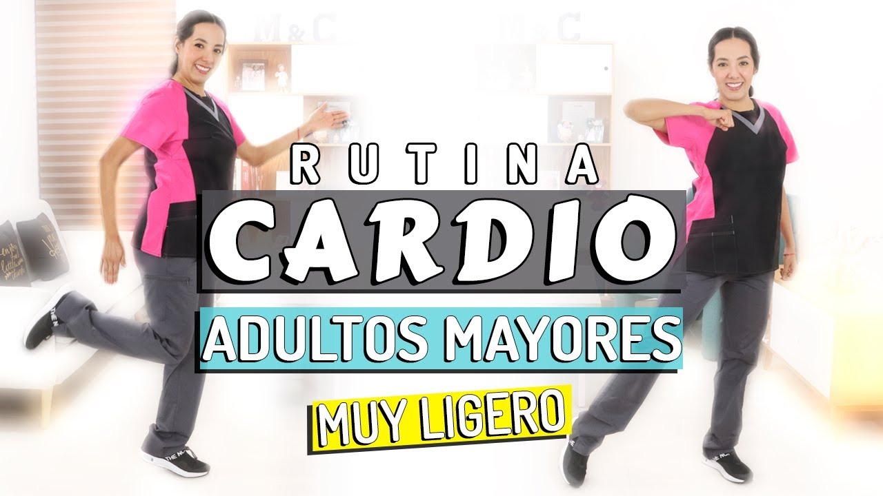 Rutina de CARDIO muy LIGERO para Adultos Mayores | 45 min.