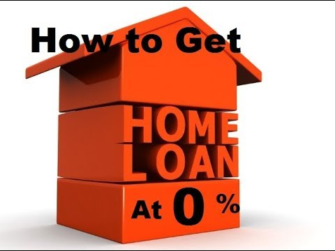 home loan at zero percent ||