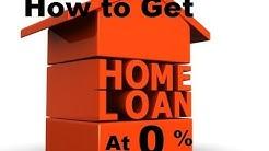 home loan at zero percent ||