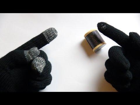 Making Gloves Work On Touchscreen