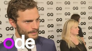GQ Awards: Jamie Dornan on joining instagram and filming Fifty Shades of Grey