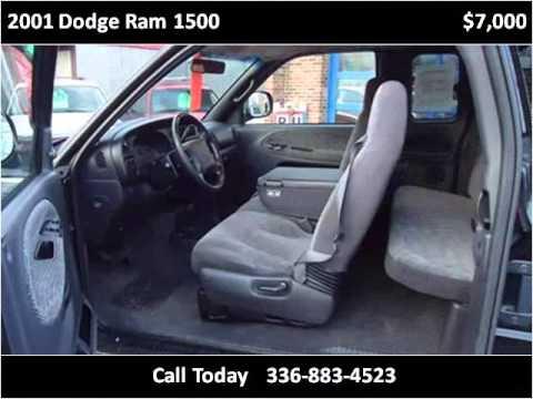 2001 dodge ram 1500 used cars high point nc youtube. Black Bedroom Furniture Sets. Home Design Ideas