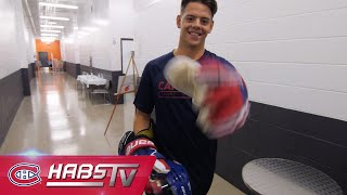 Behind the scenes at Habs training camp