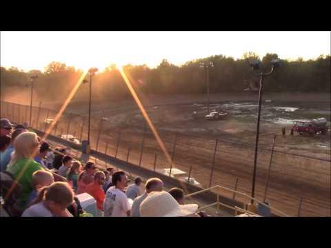 Butler Motor Speedway UMP Modified Heat #1 8/15/15