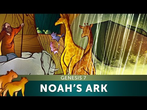 Sunday School Lesson - Noah's Ark - Genesis 7 - Bible Teaching Stories For VBS