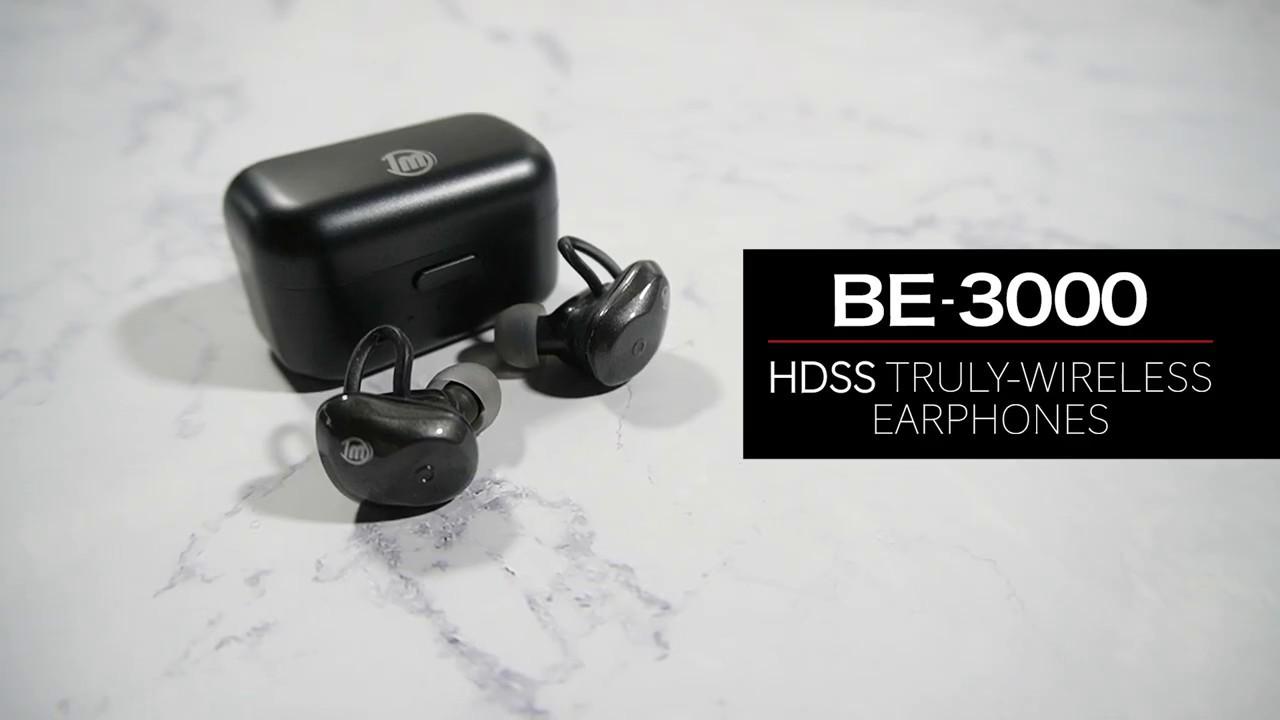 DM BE3000 無線藍牙耳機 - YouTube