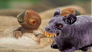 LEGO DINOSAURS - Ловушка на Ловушку 4 серия.  Крысы - Нападение! Динозаврики СПАСЕНЫ! Яйца ДРАКОНА?!