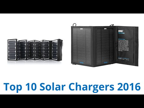 10 Best Solar Chargers 2016