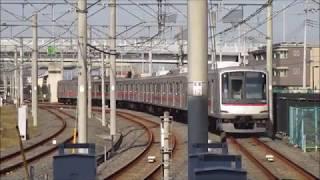 東急5080系5183F 浦和美園車両基地入庫 @浦和美園駅