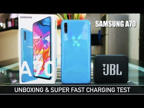 Samsung A70 Unboxing