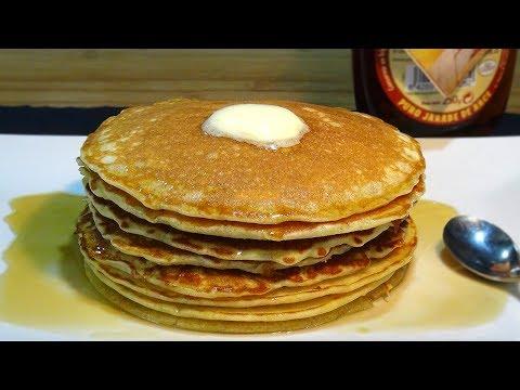 Receta Tortitas americanas (Pancakes o Hot Cake) - Recetas de cocina, paso a paso, tutorial