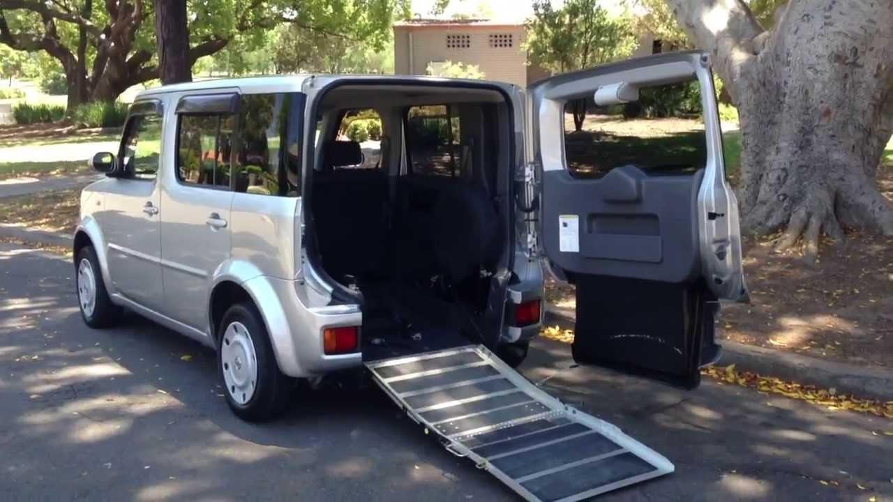 Nissan Cube Sloper Welcab Wheelchair Access Ramp