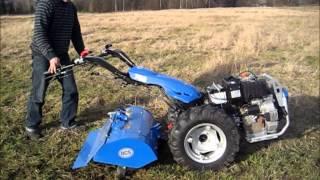 Pług wirnikowy do gleby do ciągników jednoosiowych BCS