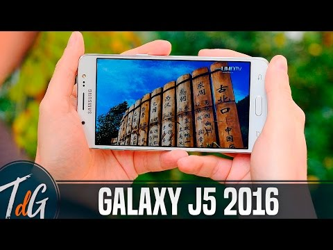 Samsung Galaxy J5 2016, review en español