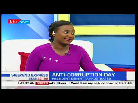 """We need to demand for accountability and transparency, "" Samantha Maina"