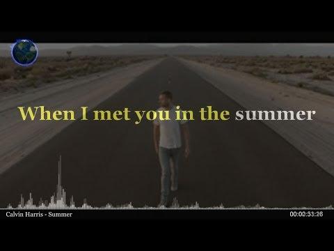 Calvin Harris - Summer (KARAOKE-INSTRUMENTAL-LYRICS)