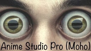Anime Studio Pro (Moho Pro): Как сделать моргание глаз, поворот тела, смену эмоций. Умные кости
