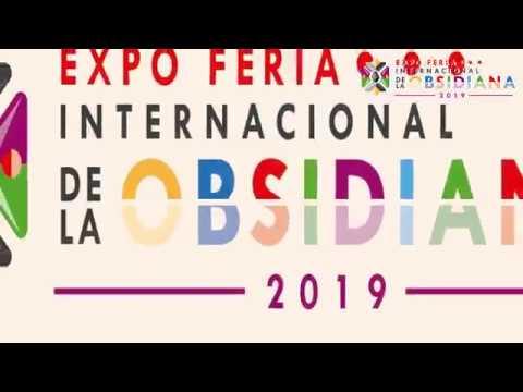 Expo Feria Internacional de la Obsidiana 2019, en Teotihuacán