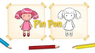 Pin Pon   Free Nursery Rhymes [Karaoke with Lyrics] #cancionesinfantiles #nurseryrhymes