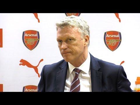 Arsenal 4-1 West Ham - David Moyes Full Post Match Press Conference - Premier League