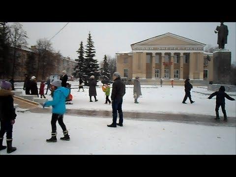 видео: Зимняя прогулочка!!! Троицк