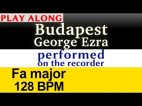 """Budapest"" [George Ezra] Play along karaoke (performed)"