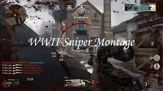 WW2 Sniper Montage | Quad Feeds | Collaterals