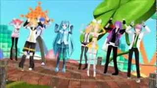 Caramelldansen mmd flash mob + Download