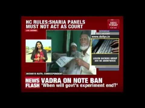 Madras High Court Calls For Ban On Sharia Courts At Mosques