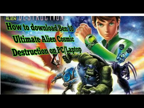 How To Download Ben 10 Ultimate Alien Cosmic Destruction On PC/Laptop Sunny Arts