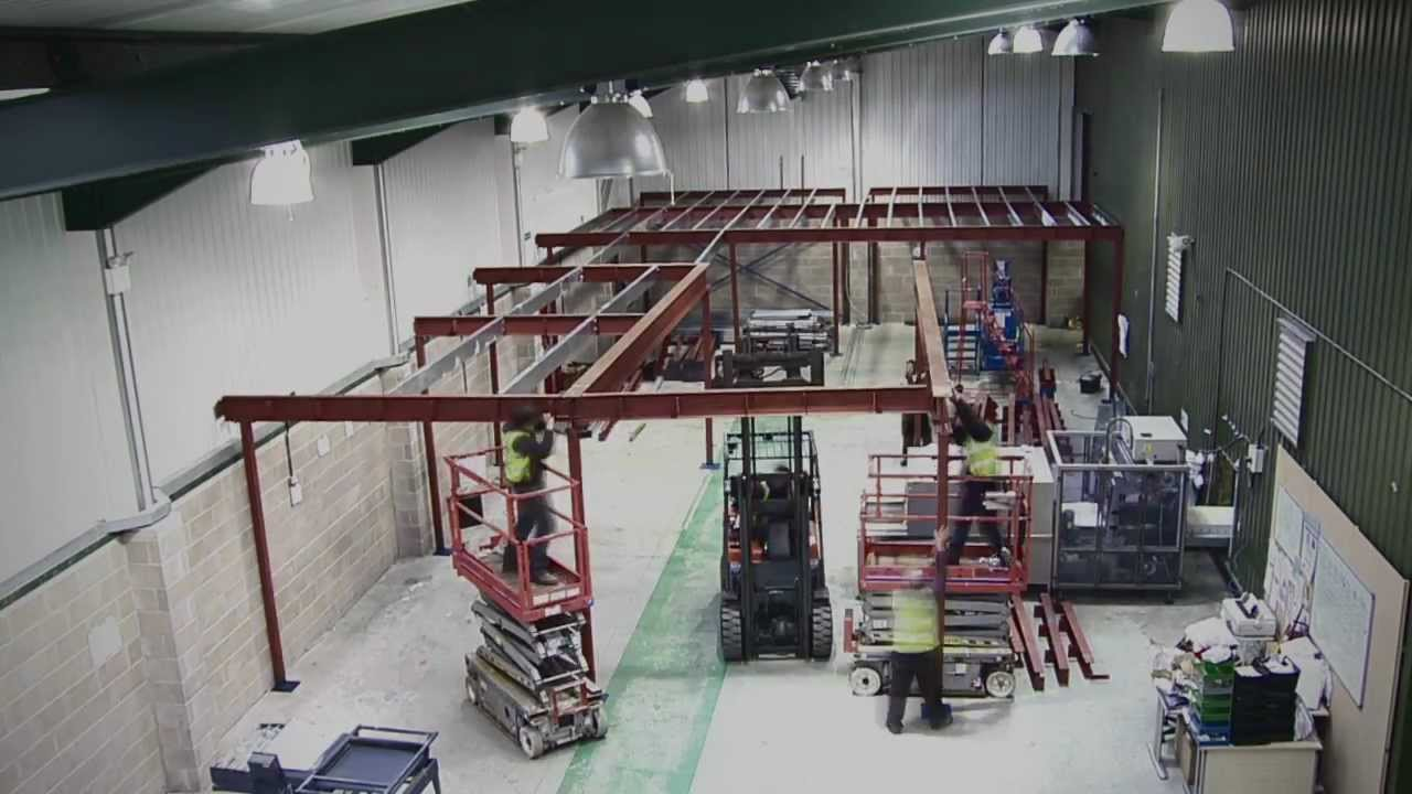 Building A Mezzanine how to build a mezzanine floorspaceway — updated - youtube