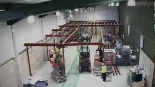Storage Containers Two Level Mezzanine Kit for Shipping