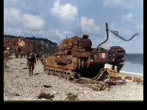 Second front is DIEPPE 19 août 1942 part 1 film colorisé SUBTITLED ENGLISH AND DEUTSCH