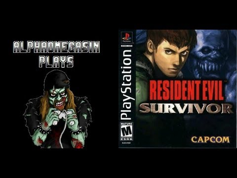 AlphaOmegaSin Plays Resident Evil Survivor (PS1) Complete