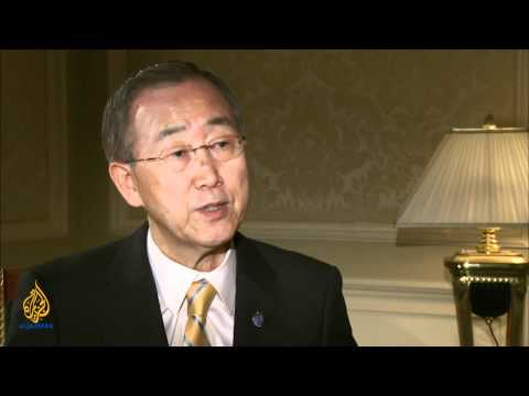 Talk to Al Jazeera - Ban Ki-Moon: 'My role is to serve the people'