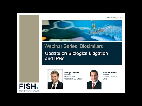 Webinar | Biologics Litigation and IPRs