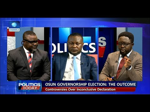 Lawyers Disagree Over INEC's Decision To Hold Rerun Election In Osun |Politics Today|