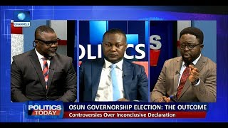 Lawyers Disagree Over INEC's Decision To Hold Rerun Election In Osun  Politics Today 