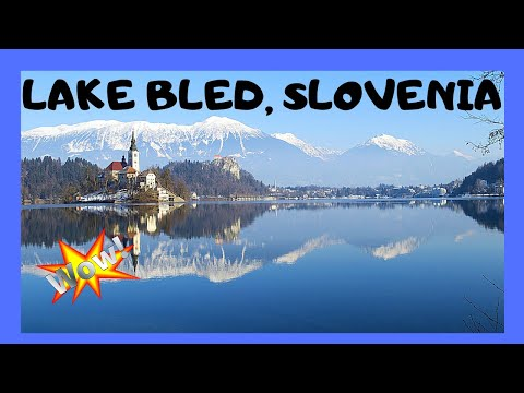 SLOVENIA, walking around LAKE BLED, most spectacular lake in the world