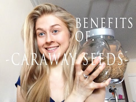 NO MORE BLOATING with CARAWAY SEEDS