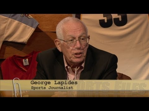 Sports Files September 6, 2013 — Sports Journalist and Radio Show Host George Lapides