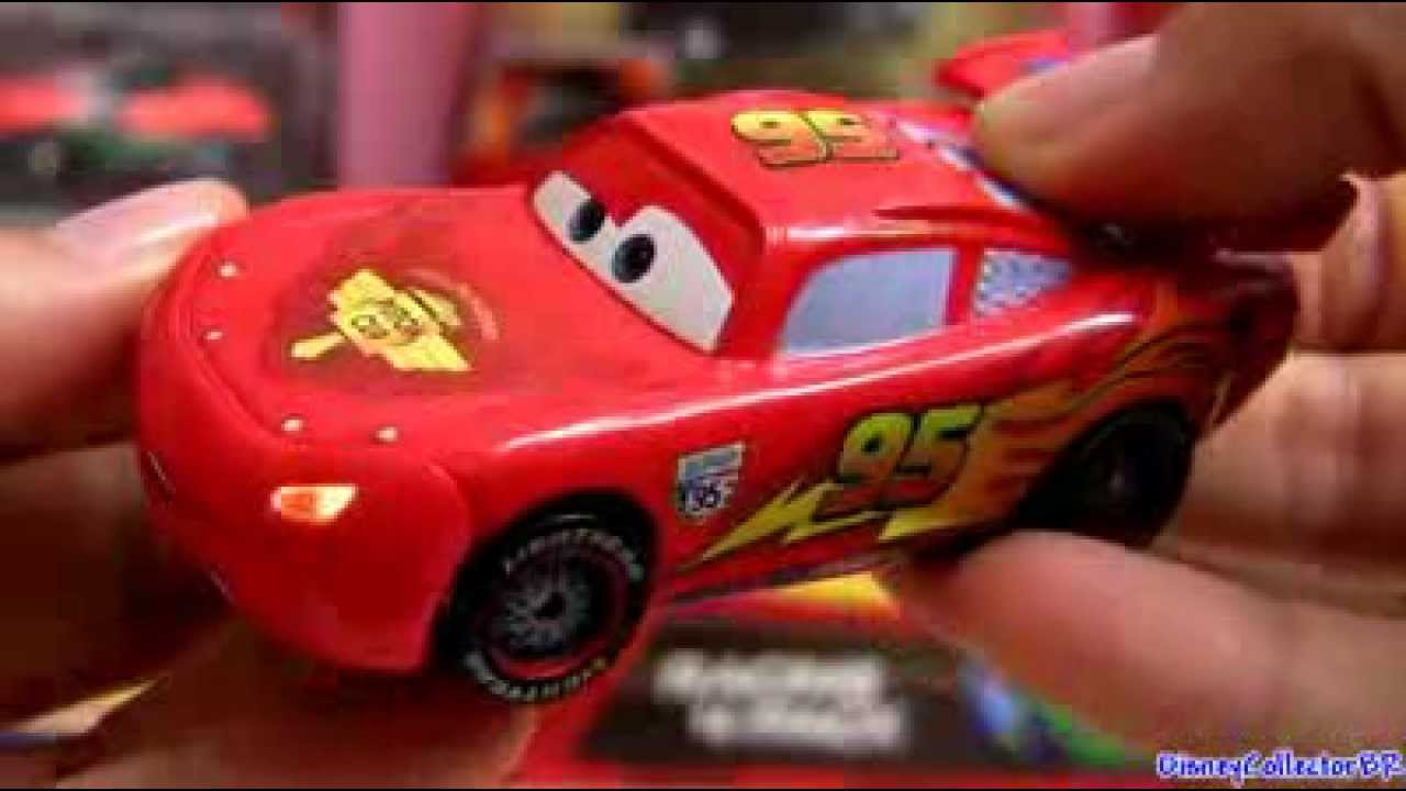 Cars 2 Lights And Sounds Lightning Mcqueen Die Cast Disney Pixar