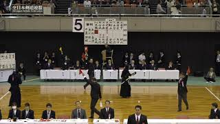OSAKA vs IBARAKI 67th All Japan Interprefecture KENDO Championship 2019 Semi Final