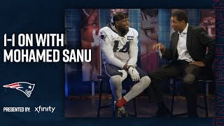 Mohamed Sanu on Adjusting to Tom Brady & the New Playbook | Patriots 1-on-1