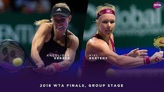 Angelique Kerber vs. Kiki Bertens | 201...