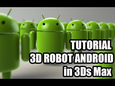 Tutorial Create Robot Android In 3ds Max 210