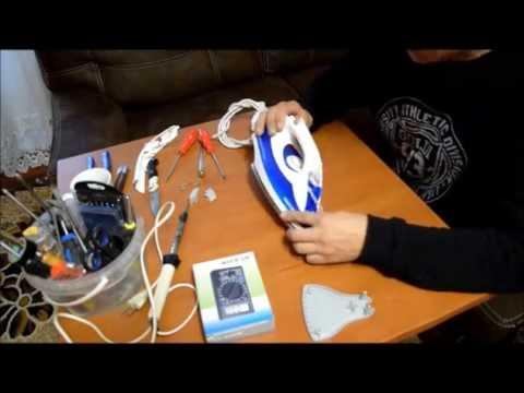Как разобрать утюг магнит 2400w видео